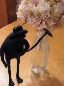 カエルの羊毛