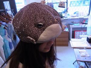 カエルの帽子