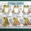 日本のカエル図鑑展